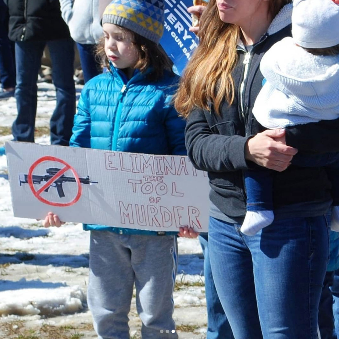 Tim was inspired & humbled by these students… #MarchForOurLives